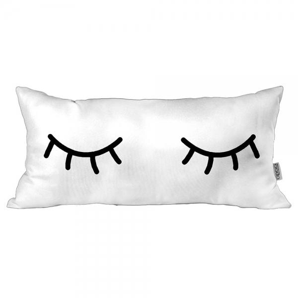 Uykucu Beyaz Kırlent By İmren Gürsoy