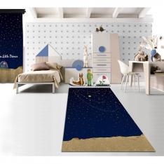 Cipcici Tiyatrosu Küçük Prens Gece Baskılı Halı 160x230