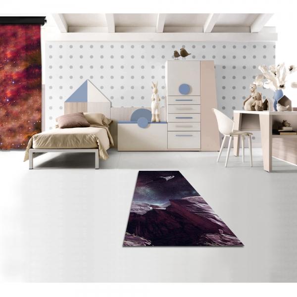 Saturn Printed Carpet