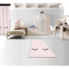 Sleepy Pink Printed Carpet By İmren Gürsoy