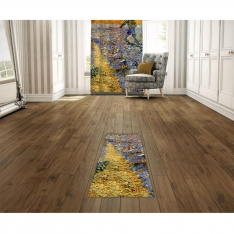 Vincent Van Gogh - The Sower (Sower with Setting Sun) Printed Carpet