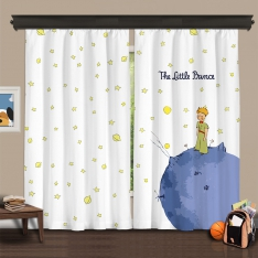 Little Prince 2 Panel Curtain