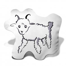 Little Prince Goat Trinket Pillow