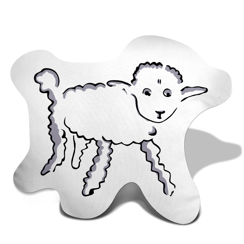Little Prince Lamb Trinket Pillow