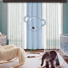 Cipcici Koala One Piece Curtain