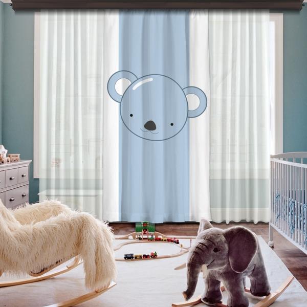 Cipcici Koala Tek Kanat Fon Perde