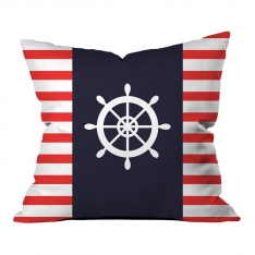Red-White Rudder Pillow