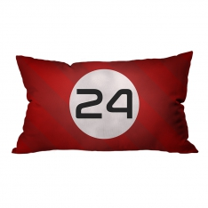 Model 24 Racing Car Model 2 Pillow