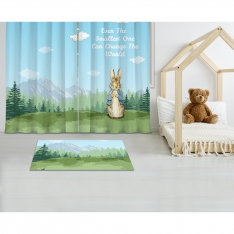 Peter Rabbit Printed Carpet