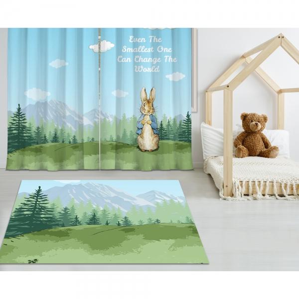 Peter Rabbit Printed Carpet