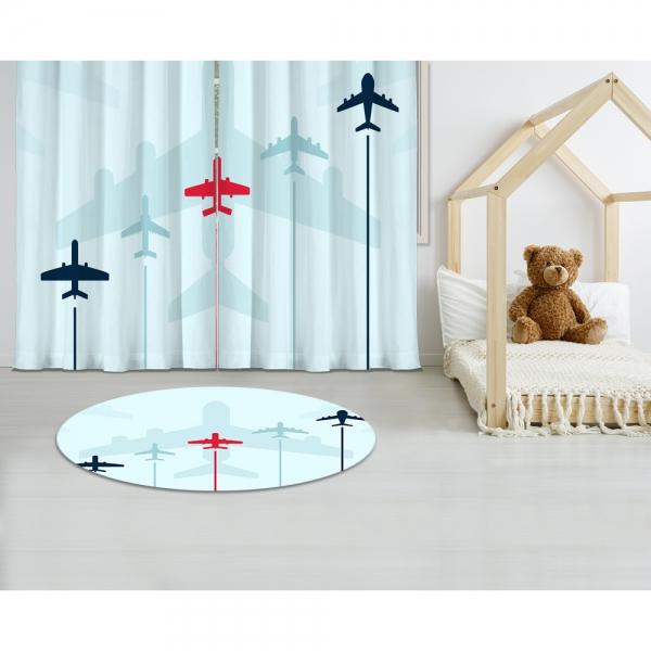 Aircraft Models Printed Carpet