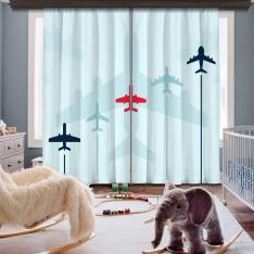 Aircraft Models 2 Panel Curtain