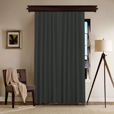 Grey Panel Curtain