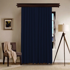 Navy Blue Panel Curtain