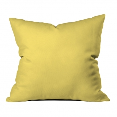 Yellow-Mint Green Summer Flowers Model 3 Pillow