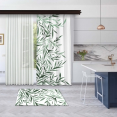 Tints of Olive Tree Panel Curtain