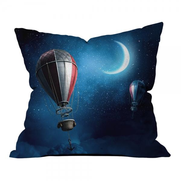 Ay Işığı ve Balonlar Kırlent