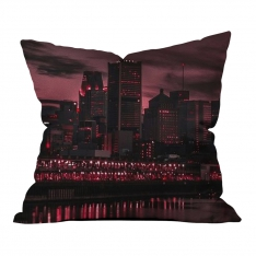 Dark Sunset Pillow