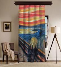 Edvard Munch - Çığlık Blackout Perde