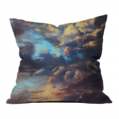 Dark Window Pillow