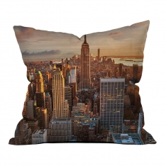 New York View Pillow