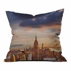 New York View Model 2 Pillow