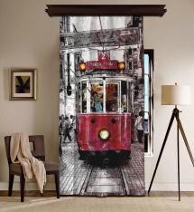 Nostalji Tramway Blackout Perde