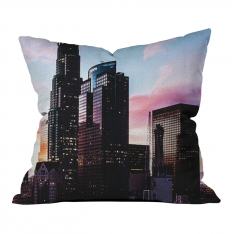 Colorful City Image Model 2 Pillow