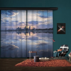 City Reflection 2 Piece Panel Curtain