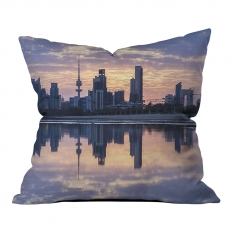 City Reflection Pillow