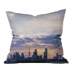City Reflection Model 2 Pillow