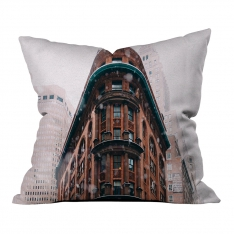 Cold Winter New York Pillow