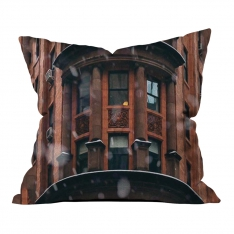 Cold Winter New York Model 2 Pillow