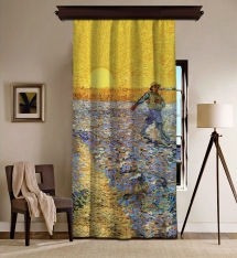 Vincent Van Gogh - The Sower Blackout Curtain