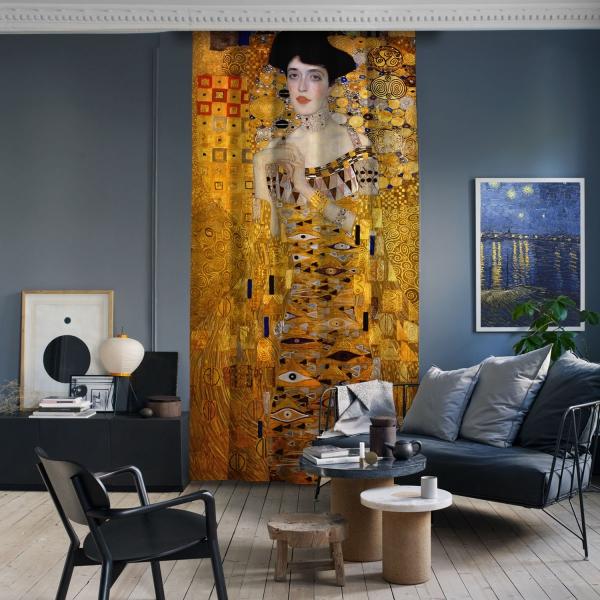 Gustav Klimt - Adele Bloch Bauer Portresi