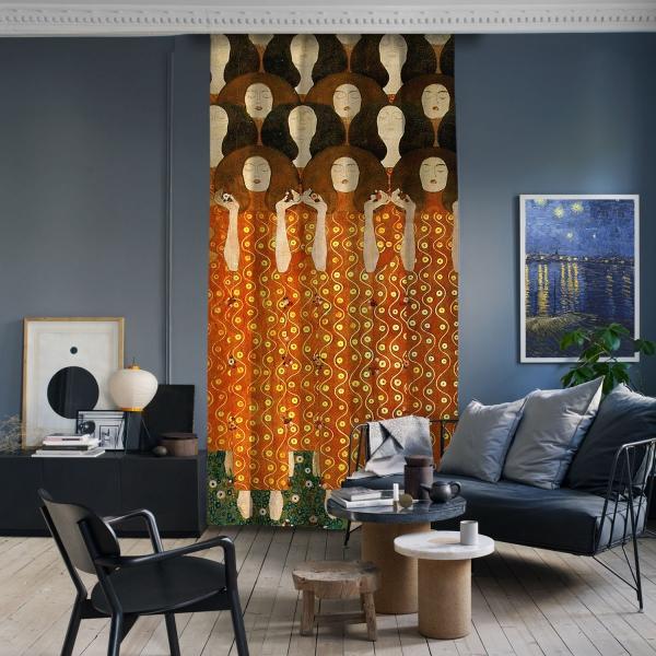 Gustav Klimt - Beethoven Friz (Detay)
