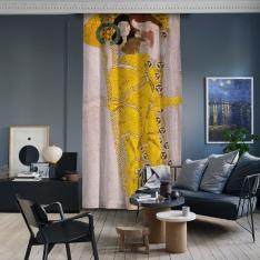 Gustav Klimt - Beethoven Friz Şövalye Detayı