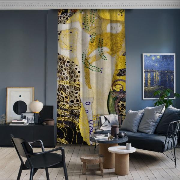 Gustav Klimt - Su Yılanları