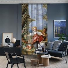 Jean-Honore Fragonard - Kör Adamın Blöf Oyunu