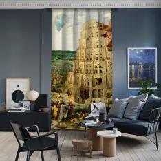 Pieter Brueghel - Babil Kulesi Panel 1