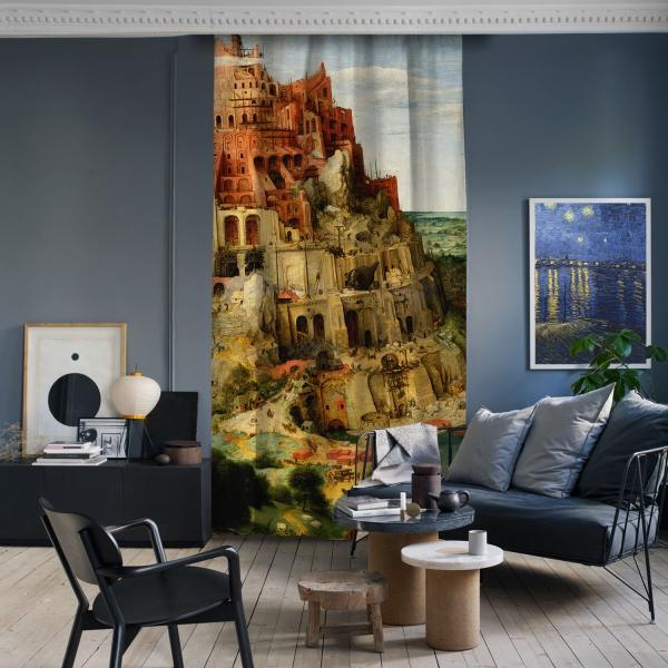 Pieter Brueghel - Babil Kulesi Panel 2