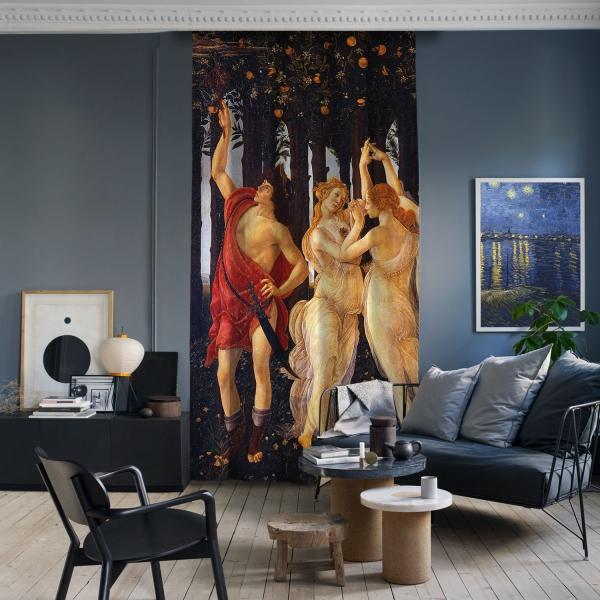 Sandro Botticelli - İlkbahar Panel 1