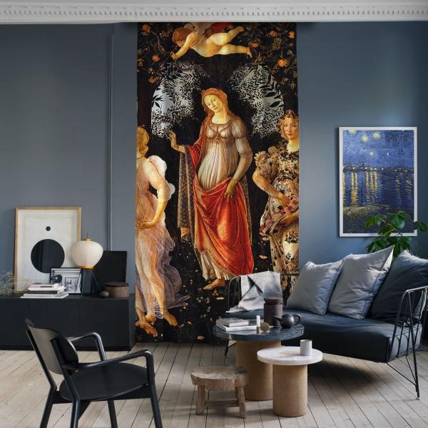 Sandro Botticelli - İlkbahar Panel 3