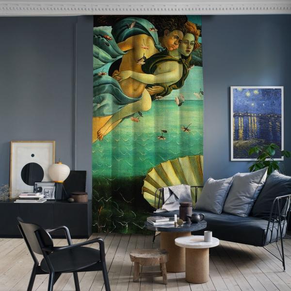 Sandro Botticelli - Venüs'ün Doğuşu Panel 1