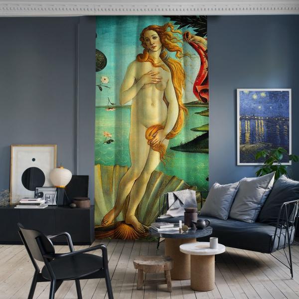Sandro Botticelli - Venüs'ün Doğuşu Panel 2
