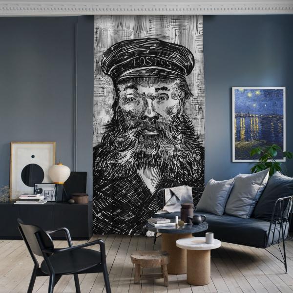 Vincent Van Gogh - Joseph Roulin Portresi(Çizim)