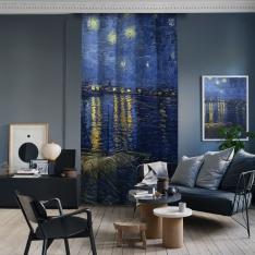 Vincent Van Gogh - Rhone Üzerinde Yıldızlı Gece