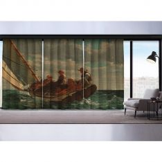 Breezing Up (A Fair Wind) 3 Pieces Panel Curtain