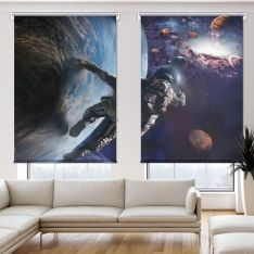 Depth of the Universe 2 Panel Roller Blind