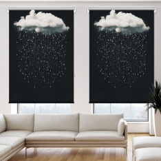 Dream Clouds 2 Panel Roller Blind